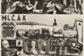 Zámek s katolickým kostelem - pravé valašské papuče Mlčák