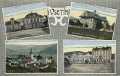 Stará a nová radnice - Černá vila - Horní město - Dolní náměstí