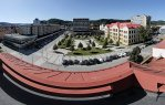 Na střeše gymnázia